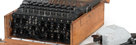 German M4 Enigma machine makes $435,000