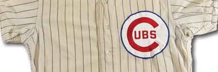 Ernie Banks Cubs jersey auctions for $138,000