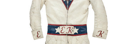 Evel Knievel's leather jumpsuit valued at $80,000+