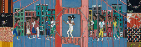 Faith Ringgold's Double Dutch valued at up to $250,000