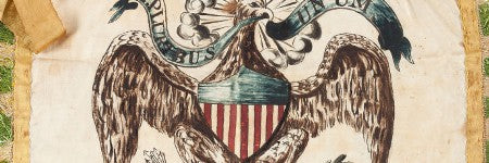 Federal era American banner realises $21,000 at Heritage Auctions