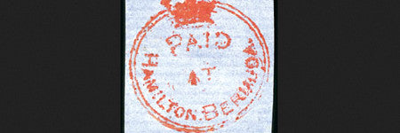 1861 Perot provisional stamp valued at $121,500