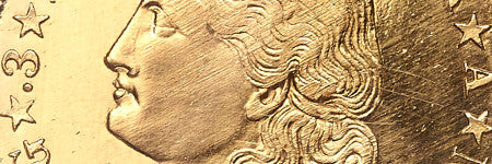 1880 flowing hair stella coin sells at Heritage Auctions