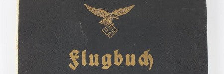 Beisswenger's Luftwaffe pilot logbook to make up to $9,500?