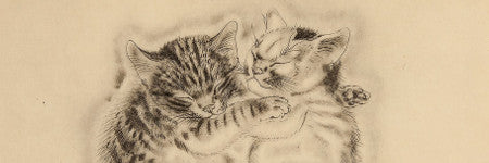 Foujita's Book of Cats sells for $54,000