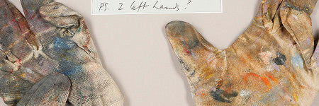 Francis Bacon's painting gloves auction for $8,500