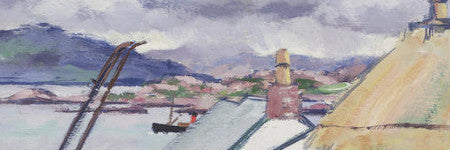 Francis Cadell's An Old Croft, Iona leads Scottish art sale