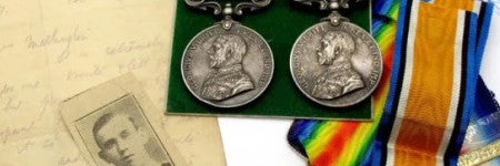 First World War medals cross the block in Yorkshire