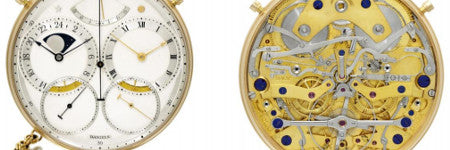 George Daniels' Space Traveller watch to auction