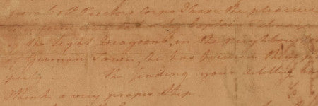 Unpublished George Washington letter to star at RR
