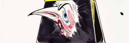 Political satirist Gerald Scarfe's archive to auction