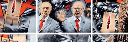 Gilbert & George's Zeal valued at $138,000