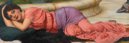 John William Godward's Cool Retreat will lead Victorian art sale