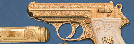Hermann Goering's golden gun offered in September sale