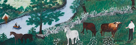 Grandma Moses paintings sell above estimate at Sotheby's