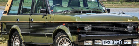 1983 Harrods Range Rover offered in UK sale