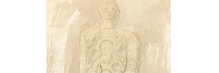 Henry Moore's Madonna and Child sells for $53,500
