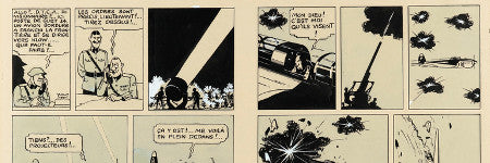 Tintin double page illustration sells for $1.7m in Paris