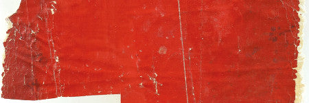 Hindenburg red fabric swatch sells for 640% over estimate