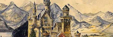 Hitler painting of Bavarian castle doubles estimate