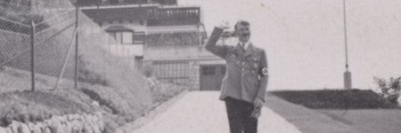 Adolf Hitler photograph album to auction
