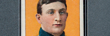 T206 'jumbo' Honus Wagner card achieves world record $3.1m