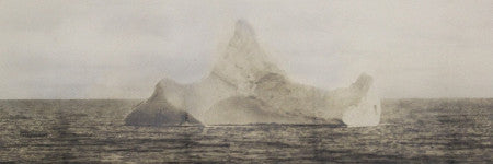 Titanic iceberg photograph to auction on October 24