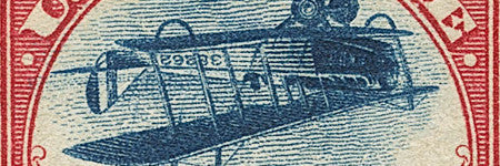 Rare Inverted Jenny stamp to auction this February