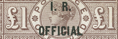 1890 IR Official stamp looks set to reach $100,000