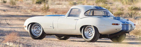 1963 Jaguar E-type lightweight sells at Scottsdale