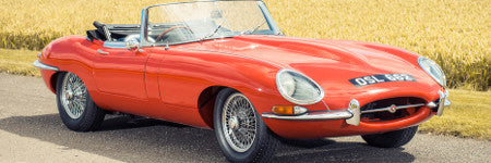 Rare Jaguar E-type sells for $185,500