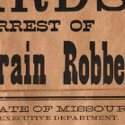 Jesse James wanted poster to beat $25,000 at Wild West auction?