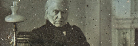 Earliest known presidential photograph offered at Sotheby's