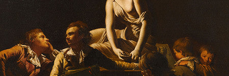 Joseph Wright of Derby painting to sell at Sotheby's