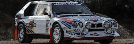 1986 Lancia Delta S4 rally racer offered in Paris