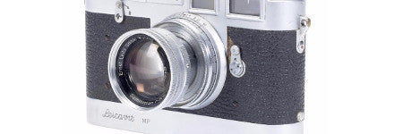 Robert White's Leicavit MP camera to lead sale of his estate