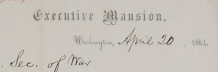 Abraham Lincoln autograph letter to exceed $11,000 at RR Auction?