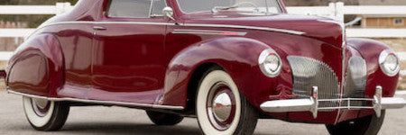Lincoln Zephyr coupes to sell at Amelia Island