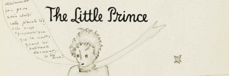 Saint-Exupery signed Little Prince valued at $150,000