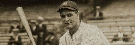 Original Lou Gehrig photograph sells for $22,000