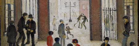 LS Lowry's Entrance to the Dwellings valued at $1.1m