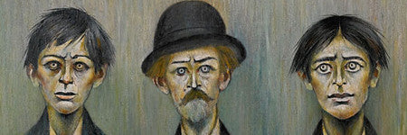 LS Lowry's Father and Two Sons realises $2.4m