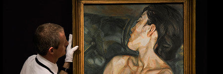 Lucian Freud's Pregnant Girl beats estimate by 60%