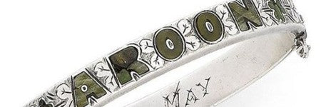 Lusitania passenger silver bracelet auctions at Bonhams