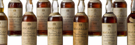Vertical Macallan whiskies collection valued at $90,000