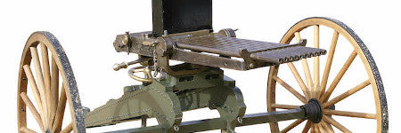 Early Nordenfelt machine gun valued at $87,000