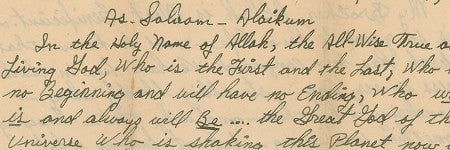 Malcolm X signed letter to cross the block at RR Auction