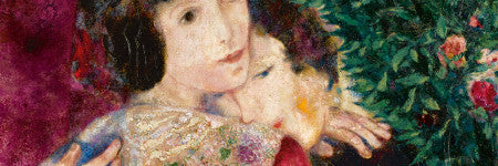 Marc Chagall's Les Amoureux sets new record