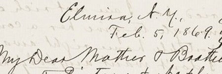 Mark Twain engagement letter valued at $30,000