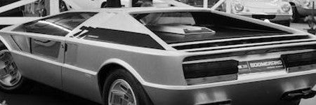 Maserati Boomerang prototype car to auction at Bonhams